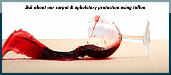 Carpet & Upholstery Teflon or Scotch Guard Protection