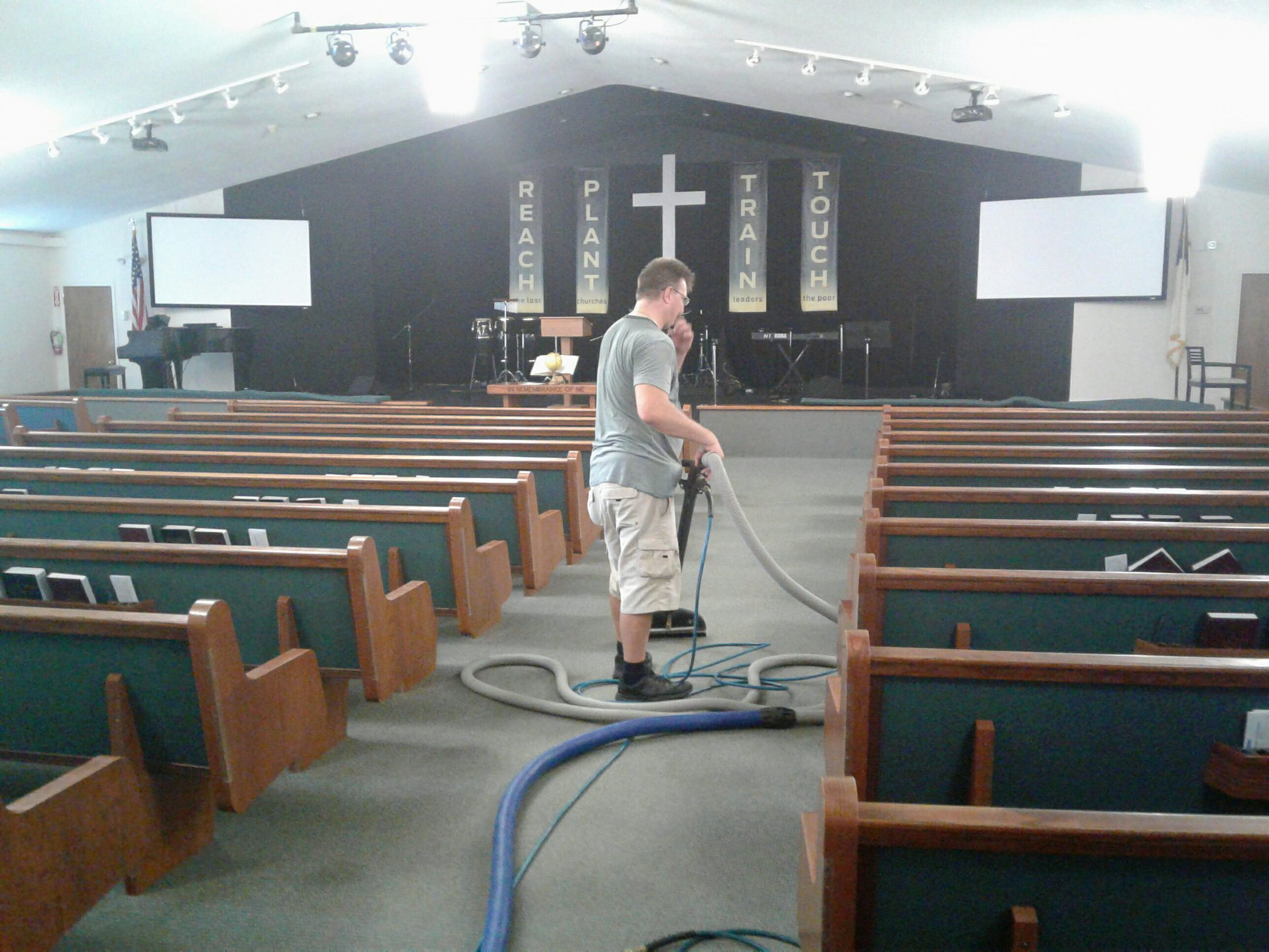Church Carpet Cleaning in Spring City PA